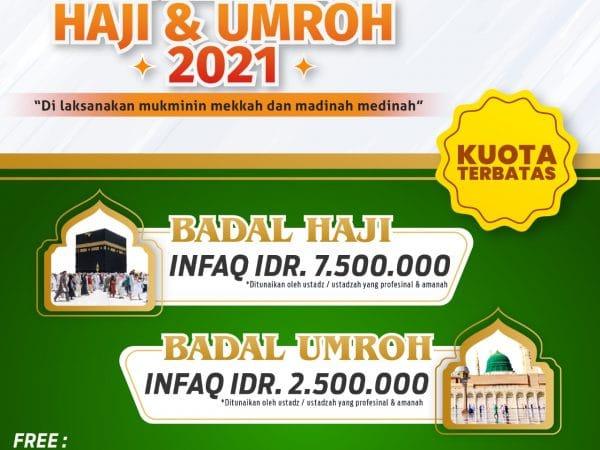 BADAL HAJI & UMROH 2021